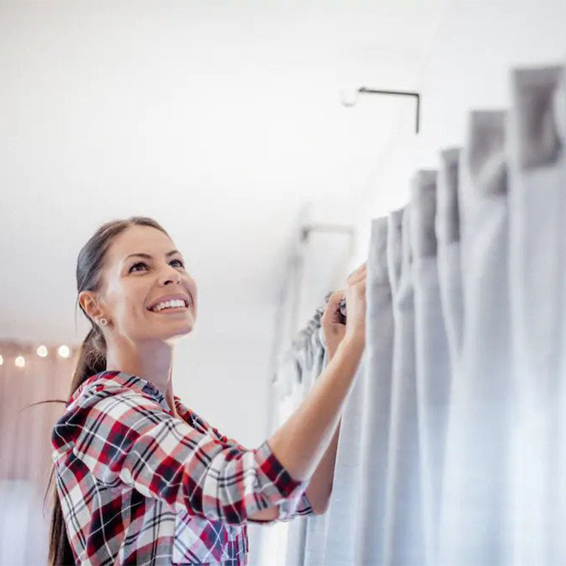 Washing Curtains